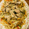 Chicken with penne